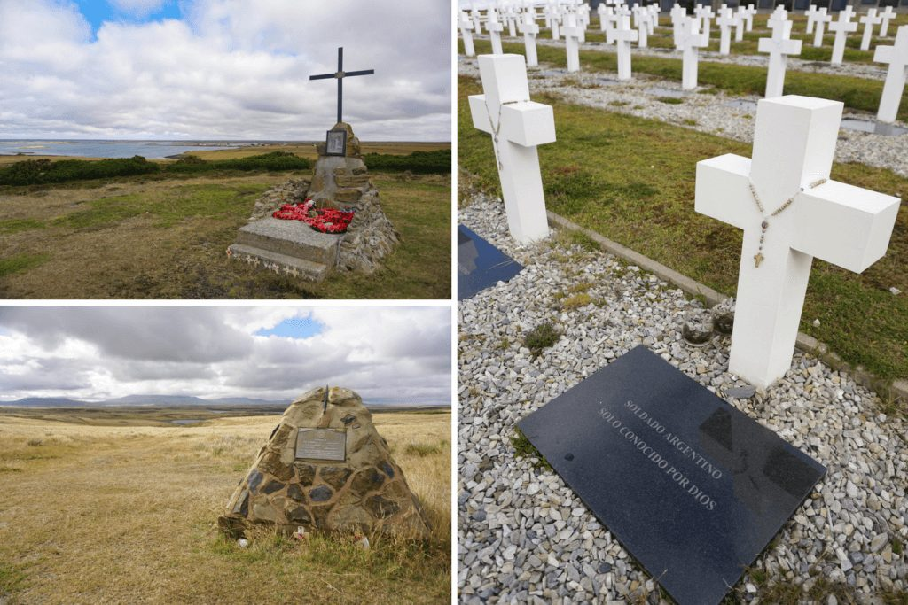 Battle over the Falklands - War Tour of the Islands